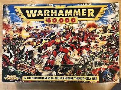 Warhammer 40k 2nd Second Edition 1993 Complete Games Workshop