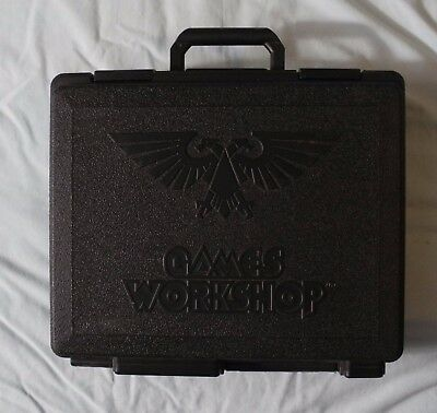Games Workshop 3-Tier Army CARRY CASE Holder Warhammer or 40K P