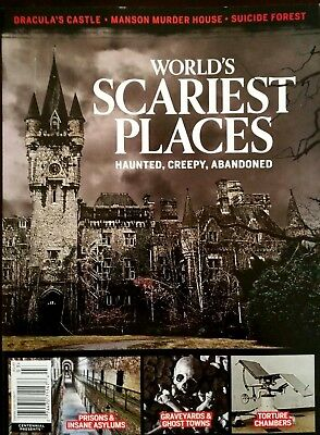 World's Most Haunted Places Dracula's Castle Ed Gein Creepy 2017 New