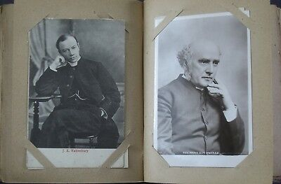 85 religious postcards, church dignitaries and others , in album, 1900-1930s