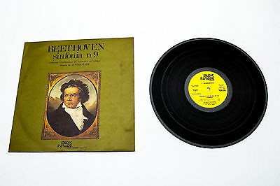 LP Beethoven Sinfonia n. 9 Gunther Wand