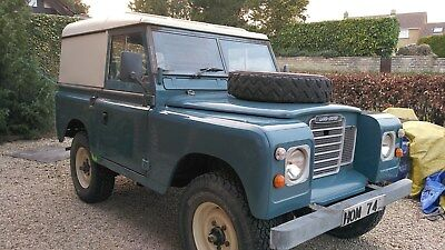 Land Rover Series 3 SWB 88 5 Seater Tax Exempt