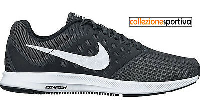 outlet store 86c92 ce078 SCARPE UOMODONNA NIKE DOWNSHIFTER 7 - 852459-002 col. nerobianco