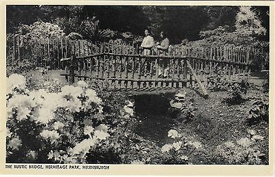 The Rustic Bridge, Hermitage Park, HELENSBURGH, Dunbartonshire