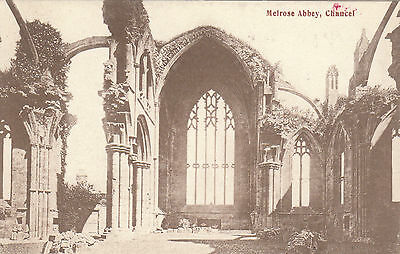 The Abbey Chancel, MELROSE, Roxburghshire