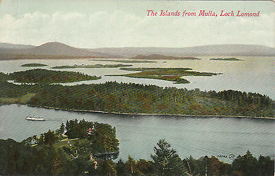 The Islands From Mulia, LOCH LOMOND, Stirlingshire