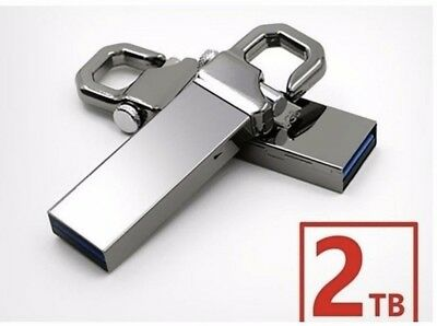 Cle USB Argent 2TO