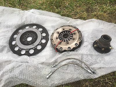 Supra 2jz Tilton Triple Carbon Disk Clutch & Flywheel