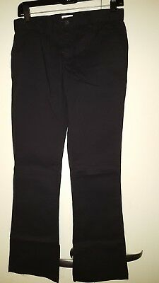 NWT - Girl's Children's Place Uniform Black Pants - Size 14