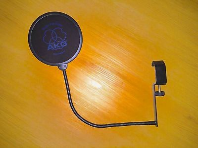 Filtre Anti Pop AKG PF 80 - PF80 ( Studio - Music - Filter - Sing - Chant )