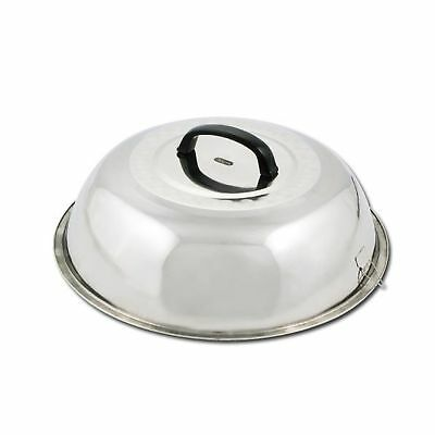 Winco WKCS-14 Stainless Steel Wok Cover 13-3/4-Inch 14 Inch 1