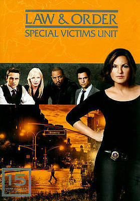 Law  Order Special Victims Unit - Year Fifteenth Season 15 (DVD 2014 5-Disc Set)