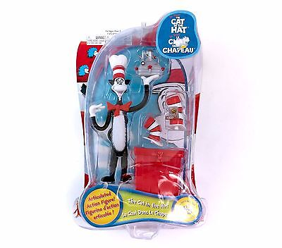 2003 Cat In The Hat Articulated Action Figure Play Along  Sealed In box Dr Seuss