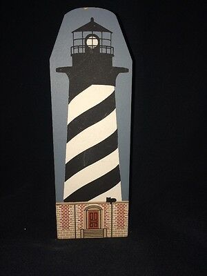 Cat's Meow Lighthouse Series Cape Hatteras 1994 Outerbanks North Carolina OBX