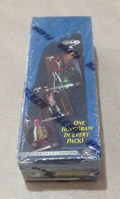 "1995 Fleer Ultra ""Batman Forever"" - Factory Sealed Rack Pack Box - 24 Packs"