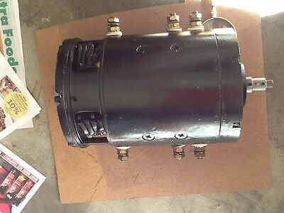 BAKER Electric Lift Truck Motor  #MLD-4004  DC / 12 V  Forklift Traction MOTOR