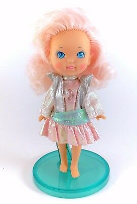Vintage 1986 Moondreamers Crystal Starr Architect Doll Figure Moon Dreamers Pink