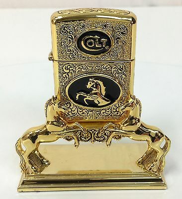 Spirit of the Old West Collector Lighter - Franklin Mint - Colt Firearms -