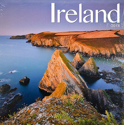 "Ireland 2018 Wall Calendar by Turner/Avonside/Lang (12"" x 24"" when opened)"