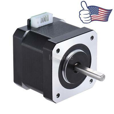 NEMA 17 Stepper Motor For CNC 3D Pinter Extruder 57oz-in 40Ncm 0.9A 1.8° 42mm US