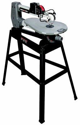 Scroll Saw Variable Speed Dual-Tilt Tabletop Keyed Chuck Dust Blower and amp;