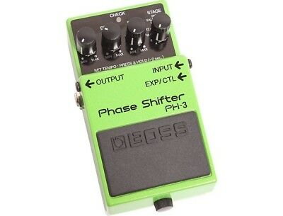 boss phaser PH3 brand new effects pedal