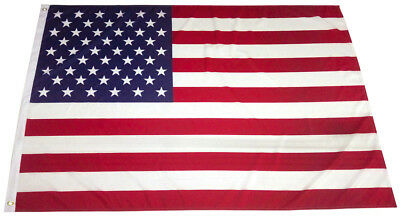 4x6 Ft American Flag USA Stars Stripes US with Grommet - 100D Polyester b