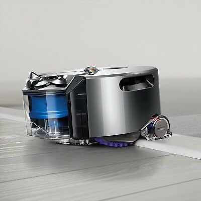 Dyson 360 Eye RB01NB Robot Vacuum Cleaner Cyclone Nickel Blue From Japan New