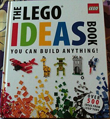 The Lego Ideas Book. You Can Build Anything Book The Cheap Fast Free Post