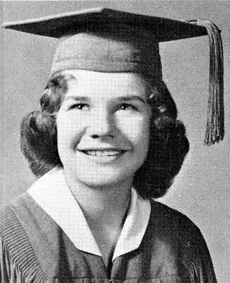 JANIS JOPLIN High School Yearbook SENIOR YEAR