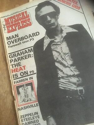 Graham Parker   NME pages 1976.