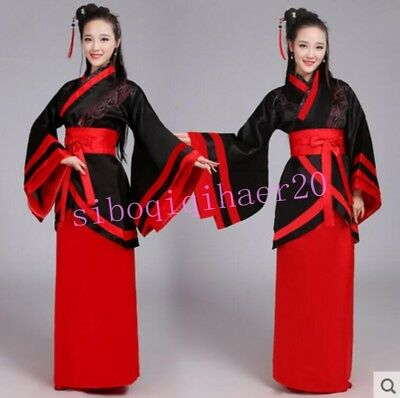 Tang Suit Chinese Ladies Hanfu Costume Fairy Dress Photography Clothing CN S M L