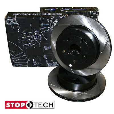 STOPTECH rear slotted REPLACEMENT BRAKE rotors/discs BMW 325 Series E90 2006