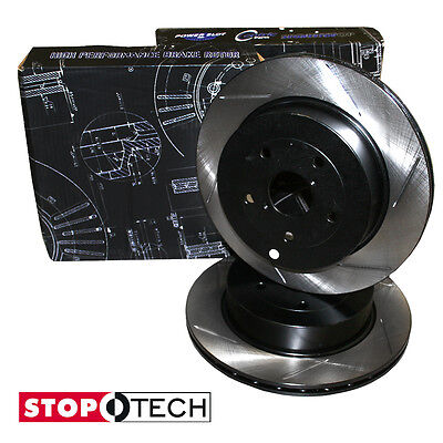 STOPTECH rear slotted REPLACEMENT BRAKE rotors/discs Audi TT 1999-2006