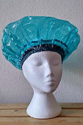 Unisex Tinted Blue Shower Caps