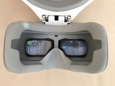 dji goggles focus fixing lenses +2.00 magnification With 3D Printed frames.