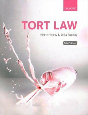 Tort Law by Kirsty Horsey, Erika Rackley (Paperback, 2017)