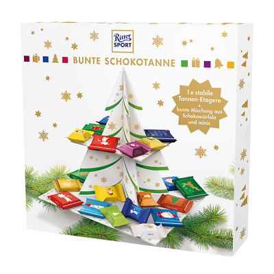 X-MAS 2017 Ritter Sport Christmas Colorful Choco Tree 321g