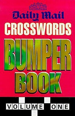 """""""Daily Mail"""" Crosswords Bumper Book: v. 1 by Daily Mail Paperback Book The Cheap"""