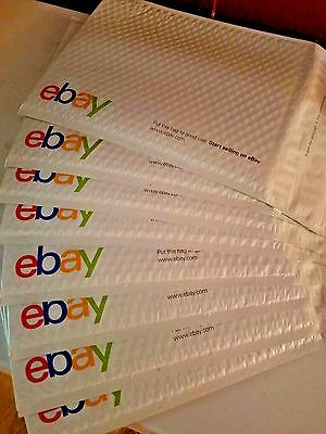 "NEW eBay Shipping Mailer Airjacket Envelopes, 12 Padded Envelopes 9.5"" x 13.25""s"