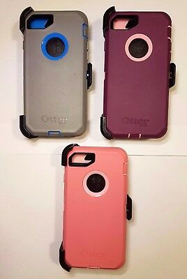 OtterBox Defender Series for IPhone 7 & IPhone 8 With Belt Clip Holster - colors
