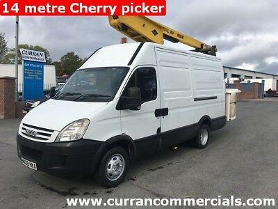 2008 Iveco Daily 3.0HPI 5.2 Ton 14 Metre Cherry picker Access platform LOW KMS!
