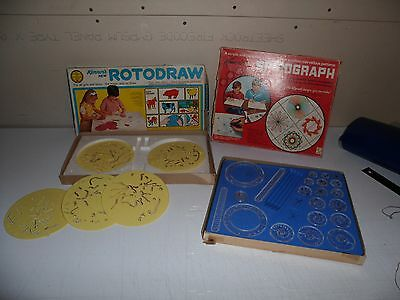 Vintage Kenners games rotodraw and Spirograph not complete