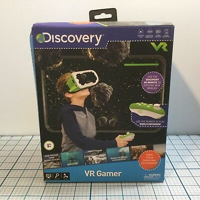 DISCOVERY KIDS VR Gamer - NIB - Great For VR Gaming & Entertainment