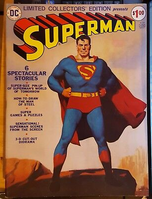 Limited Collectors' Edition Superman C-31 1974 (Fn+)