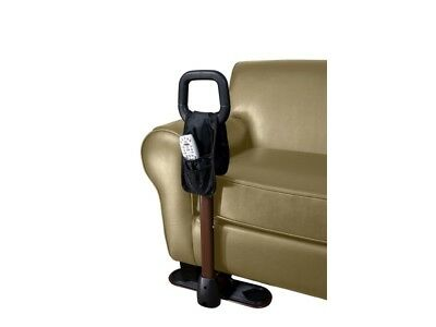 Fall Stop Couch Cane & Organizer Pouch Elderly Disabled Mobility Fall Prevention