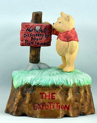 Vtg Winnie the Pooh The Expotition Music Box