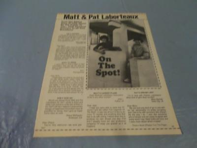 Matthew & Patrick Laborteaux   clipping  #MP