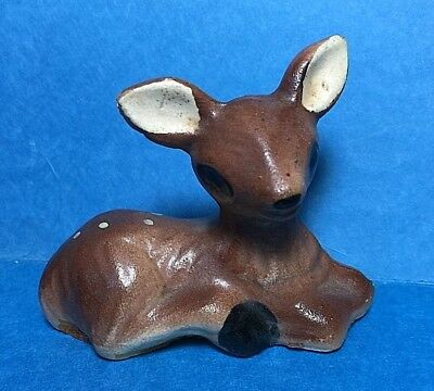 Vintage Ceramic Fawn/ Doe/Deer Figurine  #4