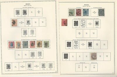 Brazil Collection 1843-1964 on Minkus Specialty Pages, 80 Pages